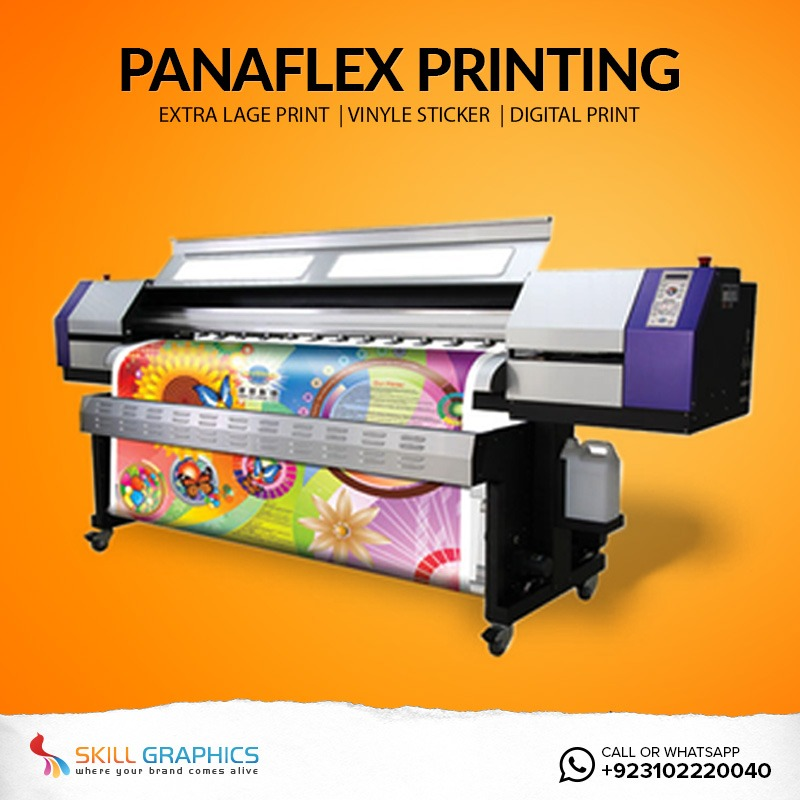 Online Penaflex Printing Services Karachi Pakistan